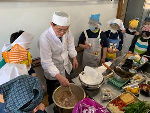 日本料理に学ぶ食育カリキュラム授業